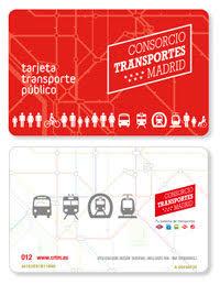 Tarjeta Multi - Transport public de Madrid
