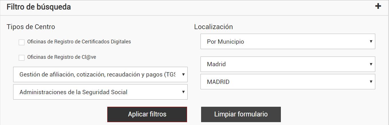 Sécurité Sociale Madrid