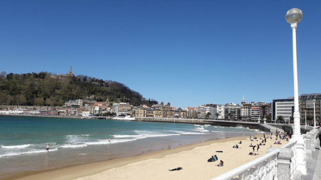 San Sebastián - Bahía de la Concha