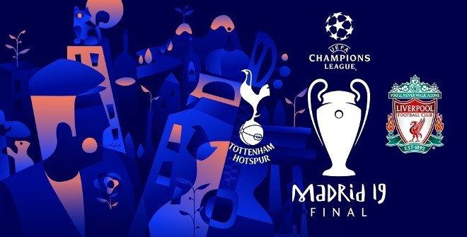 Logo Champions League juin 2019 Madrid
